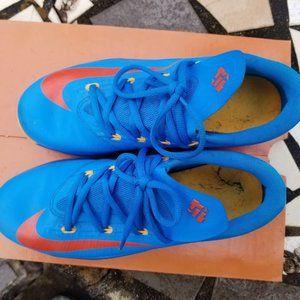 Nike Shoes - Nike KD VI (6) Size 6 Y Blue And Orange